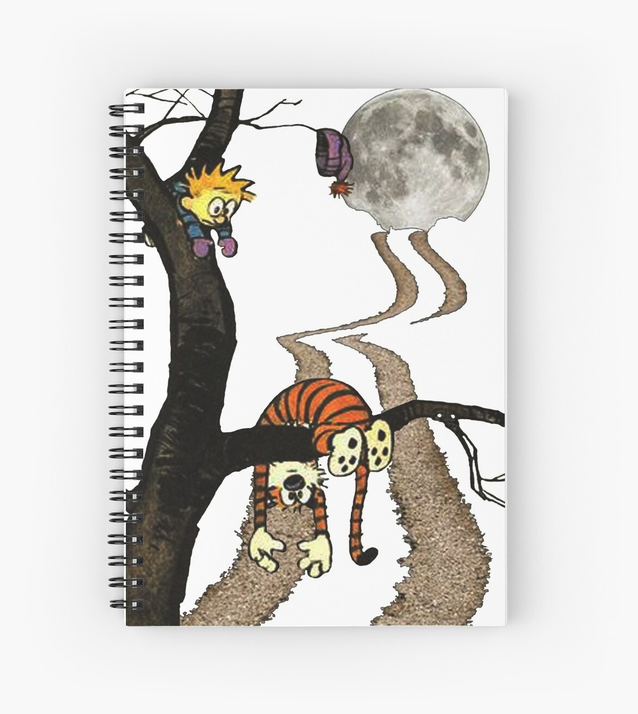 Cuadernos de espiral «calvin hobbes» de Jeanneford   Redbubble