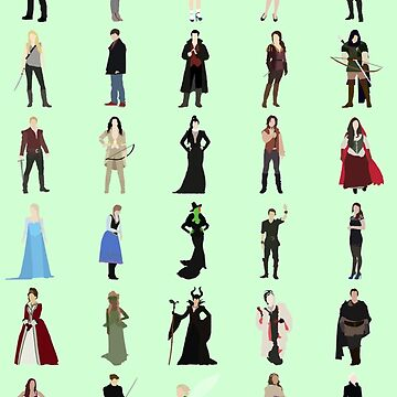 Once Upon A Time icons by AHappyBeginning