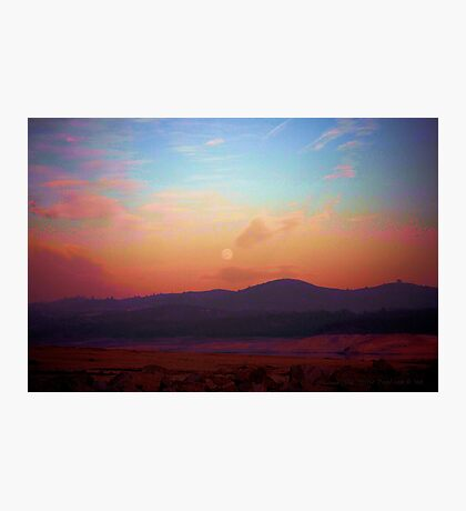 Lunar Sunset Photographic Print
