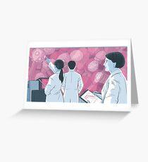 Wallace Lab Greeting Card