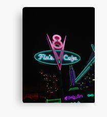 Flo's V8 Cafe Canvas Print