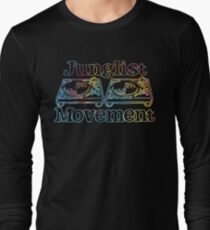 Junglist Movement - Tye Dye Sketch Long Sleeve T-Shirt
