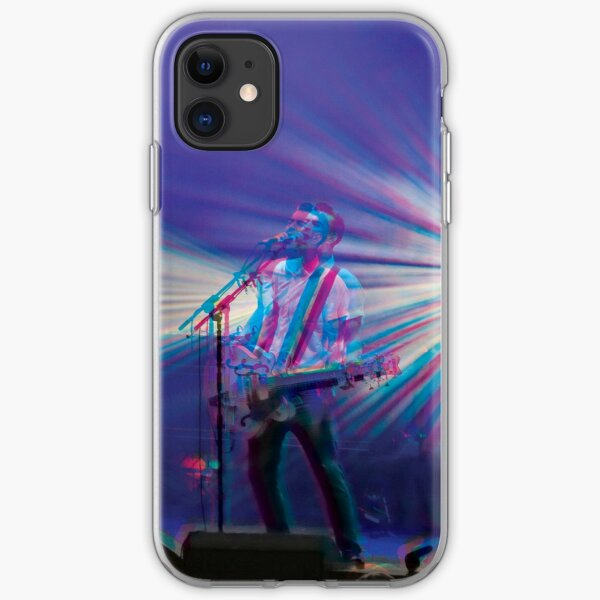 Liam Fray, Courteeners 3D style  iPhone Soft Case