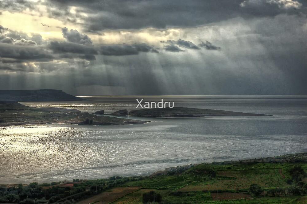 Drama In The Sky by Xandru