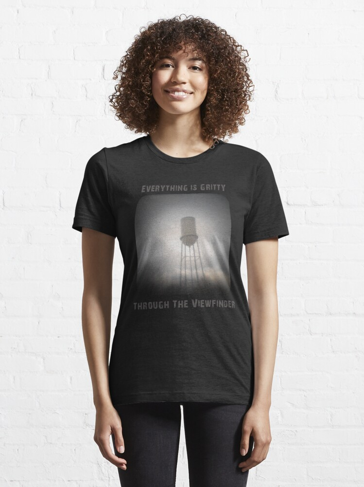 Alternate view of Everything is Gritty Through the Viewfinder (TtV) Essential T-Shirt