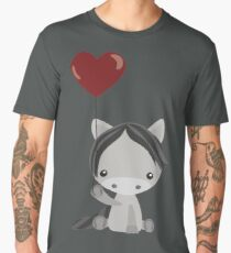 Pony In Love Men's Premium T-Shirt
