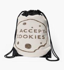 Ich akzeptiere Cookies Turnbeutel