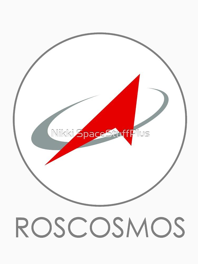 Russian Federal Space Agency (Roscosmos) Logo by Spacestuffplus