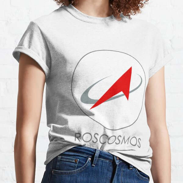 Russian Federal Space Agency (Roscosmos) Logo Classic T-Shirt