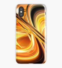 Abstract Multi Color Painting iPhone Case