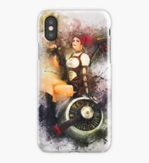 Aircraft Girl iPhone Case/Skin