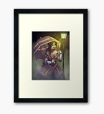 Rain to Rust Framed Print