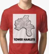 Tower Hamlets - London Boroughs Tri-blend T-Shirt