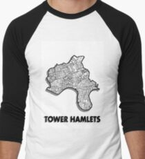 Tower Hamlets - London Boroughs Men's Baseball ¾ T-Shirt