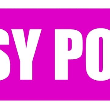 Pussy Power - Transparent, Pink Background by designite