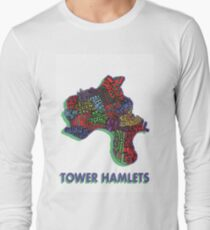 Tower Hamlets - London Boroughs Long Sleeve T-Shirt