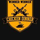 «A ganar a ganar pollo para cenar» de AngryMongo