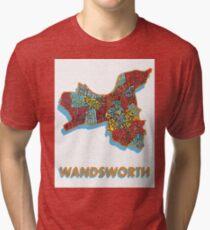 Wandsworth - London Boroughs Tri-blend T-Shirt