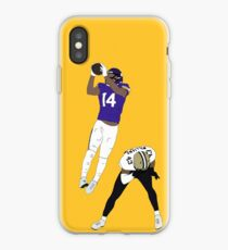 Stefon Diggs Catch iPhone Case