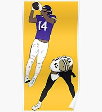 Stefon Diggs Catch Poster