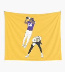 Stefon Diggs Catch Wall Tapestry