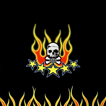 Flame 5starG by SquareGoTshirts