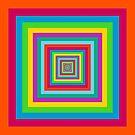 Colorful square stripes by ikshvaku