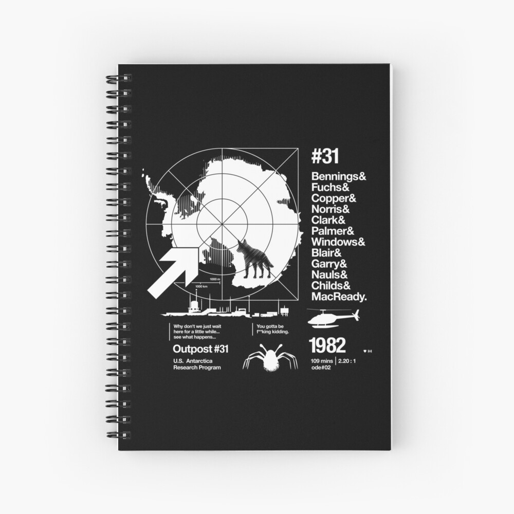ODE #02 Spiral Notebook