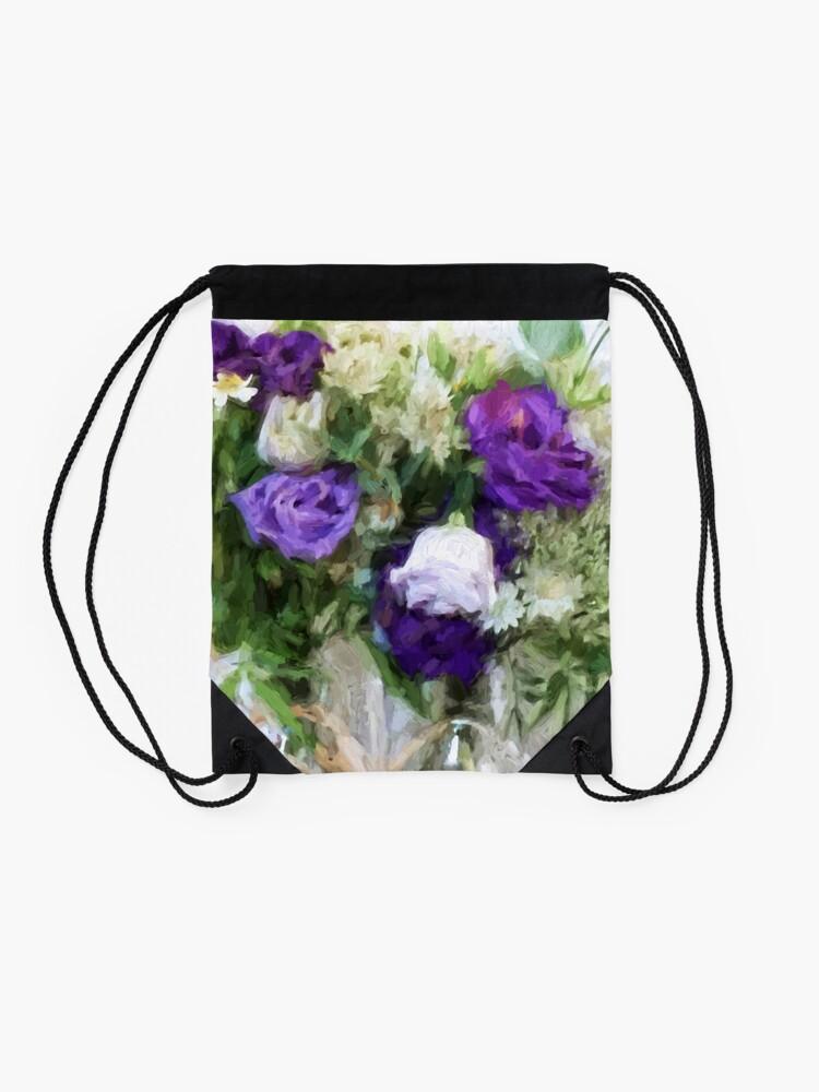 Alternate view of Spring Passion Drawstring Bag