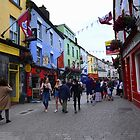 On the street in Galway by annalisa bianchetti