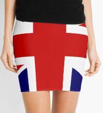 British Flag, Union Jack Mini Skirt