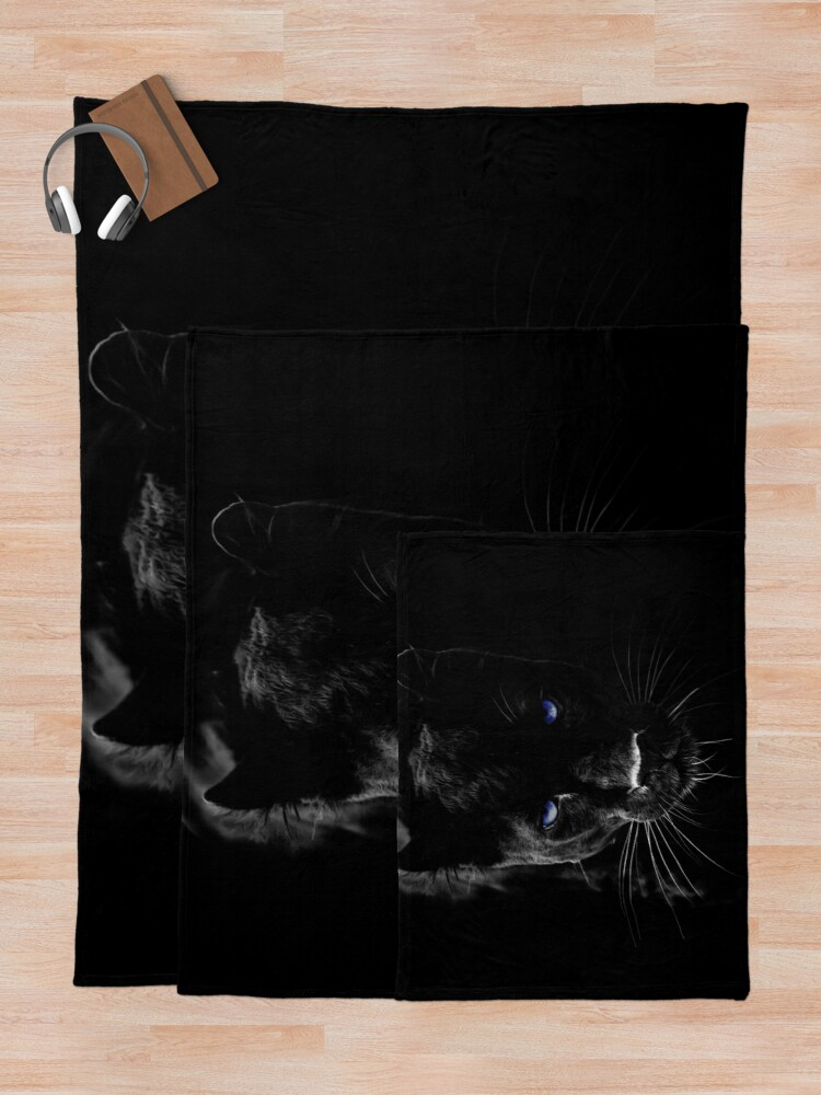 Alternate view of BLACK PANTHER Throw Blanket