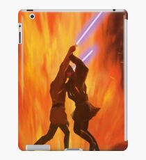Lava Fight Anakin VS Obi Wan // Star Wars iPad Case/Skin