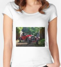 1927 Pierce-Arrow Series 80 Runabout Women's Fitted Scoop T-Shirt