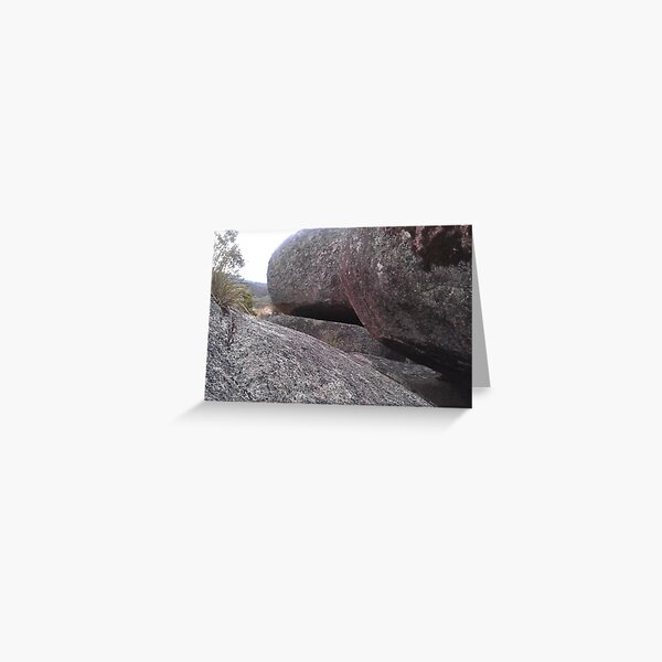 Rock-ing Namadgi National Park Greeting Card