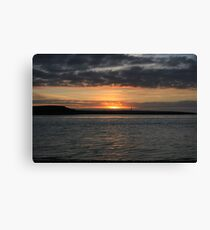 Scattery Island sunset Canvas Print
