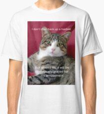 TJ Hairball Meme  Classic T-Shirt