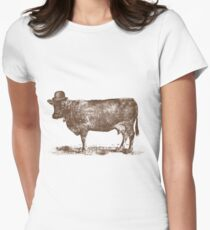 Cow Cow Nut Women's Fitted T-Shirt