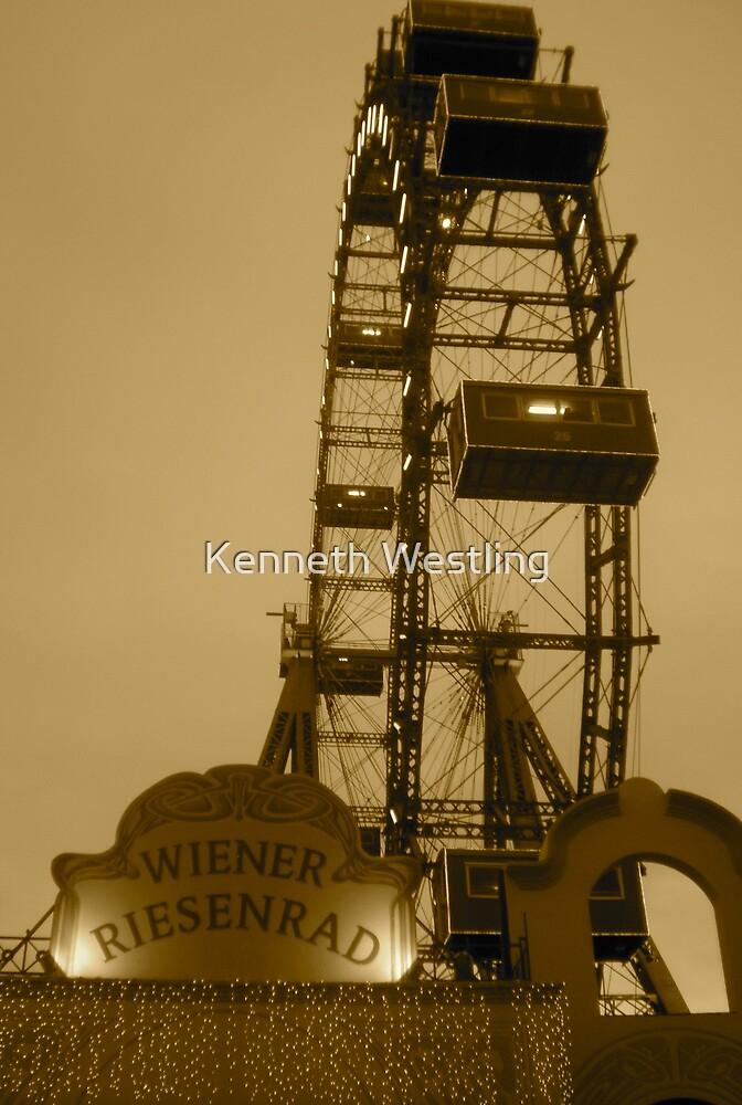 Wiener Riesenrad by Kenneth Westling
