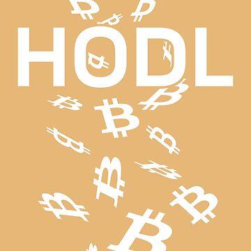 HODL - Bitcoin - On Dark by destinysagent
