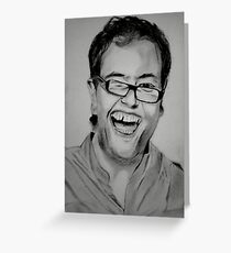 Alan Carr Greeting Card
