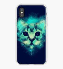 Kosmische Katze iPhone-Hülle & Cover