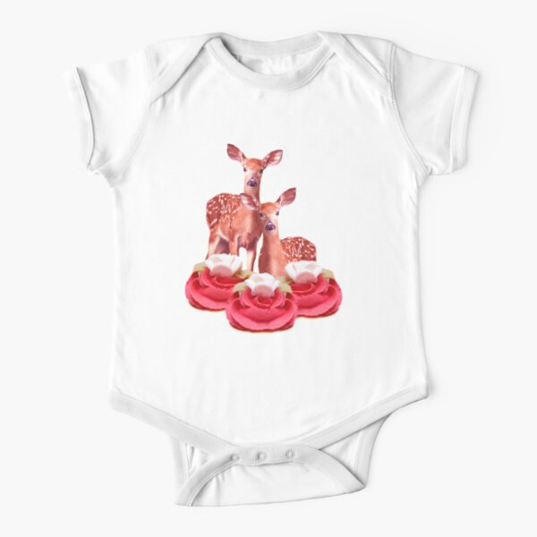 Pink Sugar Bambi by Alice Monber Short Sleeve Baby One-Piece