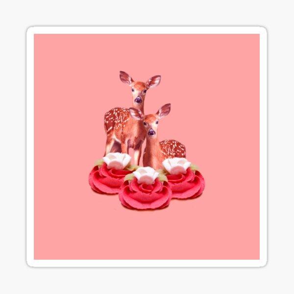 Pink Sugar Bambi by Alice Monber Sticker