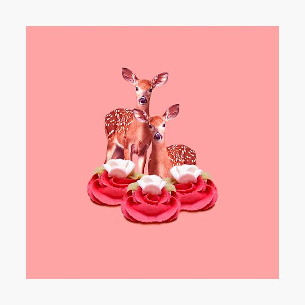 Pink Sugar Bambi by Alice Monber Photographic Print