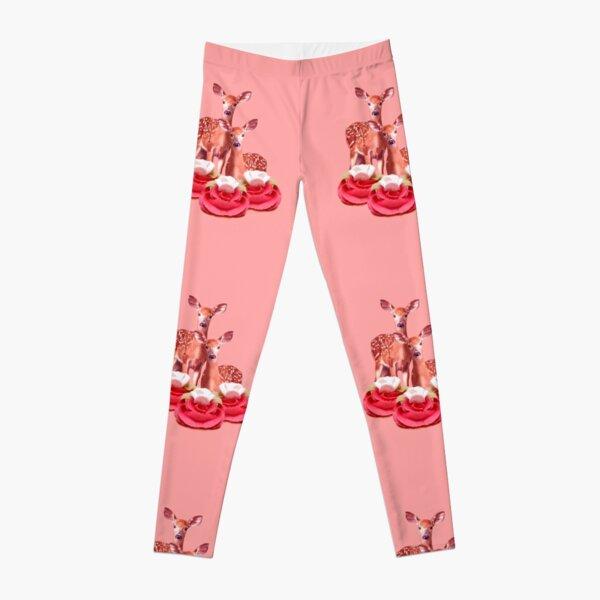 Pink Sugar Bambi by Alice Monber Leggings