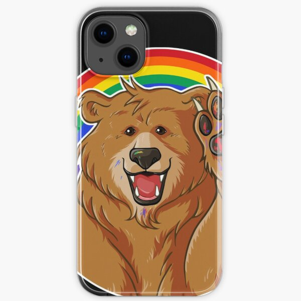 BOBO LIKES TO WOOF - GAY PRIDE iPhone Soft Case