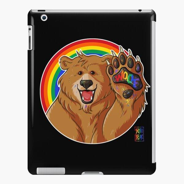 BOBO LIKES TO WOOF - GAY PRIDE iPad Snap Case