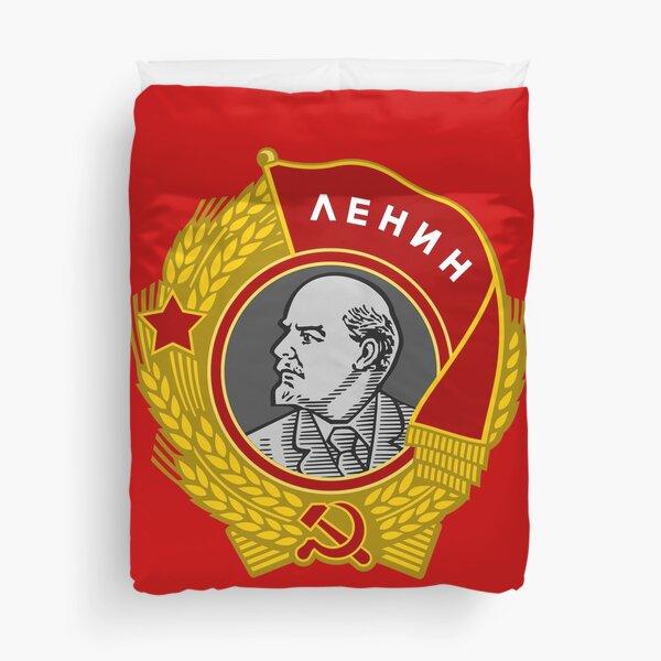 Lenin order Soviet Union USSR Duvet Cover