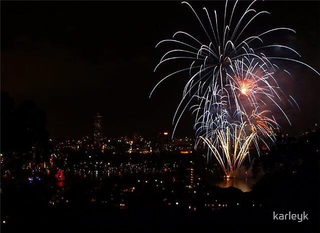 Cremorne Point Sydney bringing in the New Year by karleyk